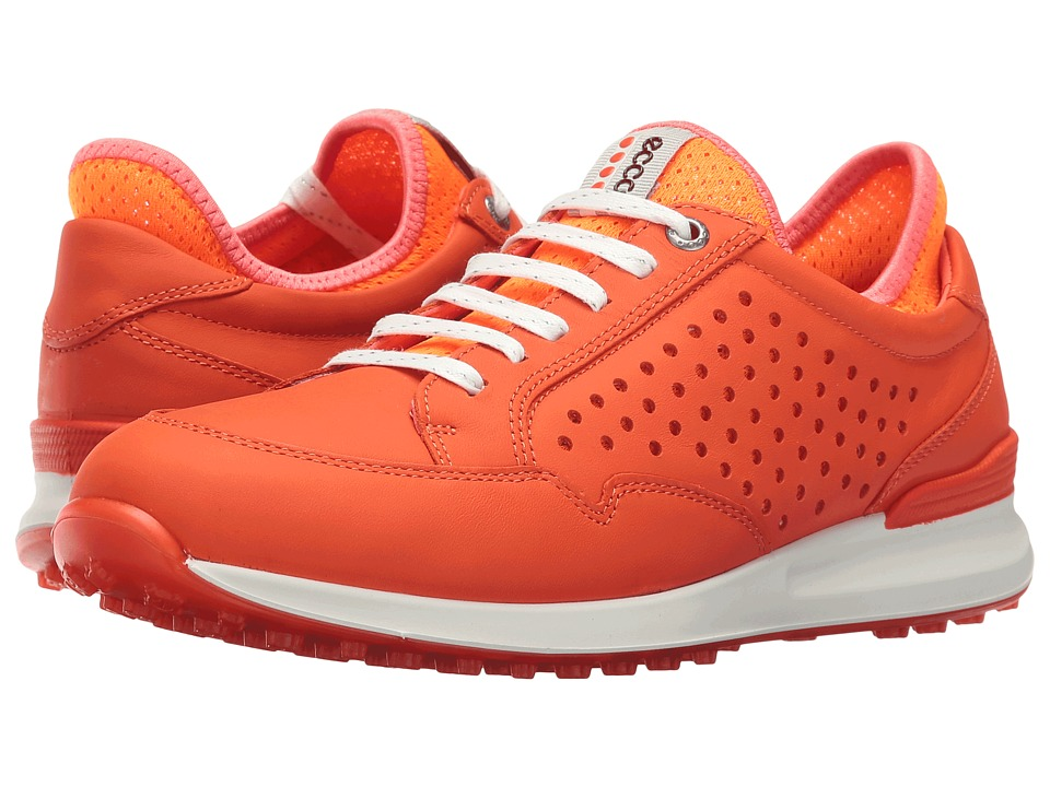 ECCO Golf - Speed Hybrid (Fire/Orange Neon) Women's Shoes