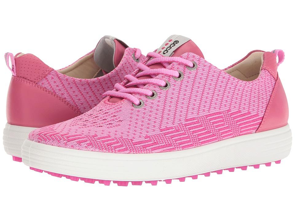ECCO Golf Casual Hybrid Knit (Pink/Beet Root/Fandango) Women