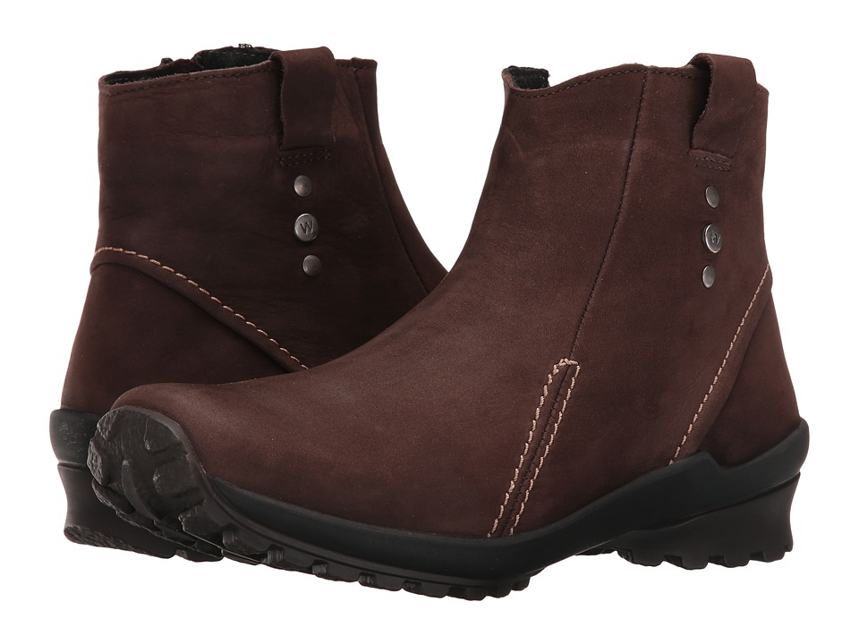 Wolky Zion Waterproof (Brown Nepal Oiled Leather) Women