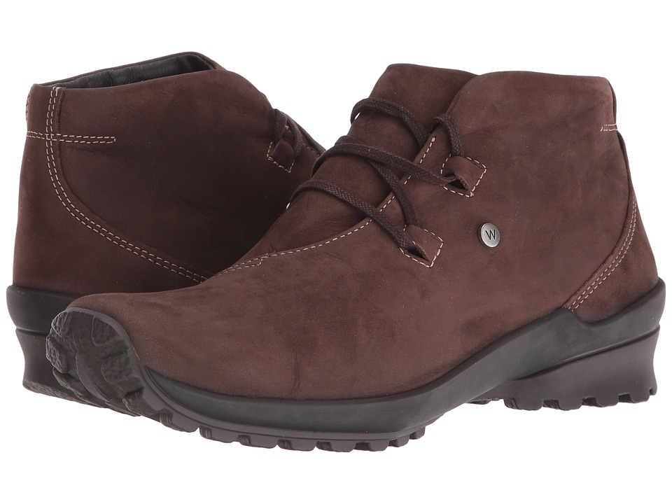 Wolky - Arctic (Brown Nepal Oiled Leather) Women's Waterproof Boots