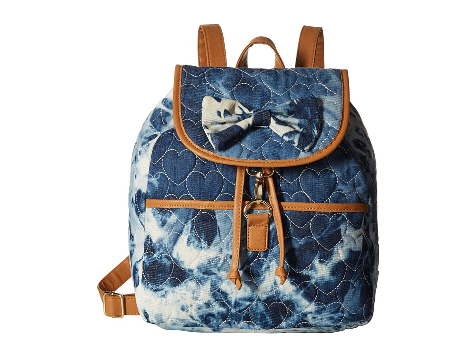 Luv Betsey - Harlow Backpack (Denim) Backpack Bags