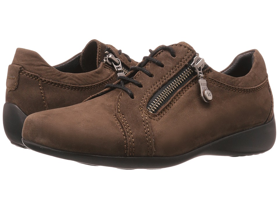 Wolky - Bonnie (Brown Nubuck) Women's Lace up casual Shoes