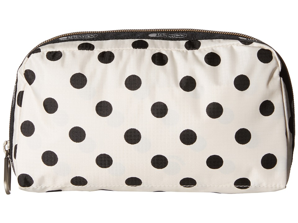LeSportsac - Essential Cosmetic Case (Sunshine Dot Cream) Cosmetic Case