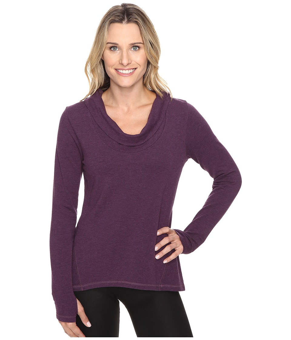 Lucy - Surrender Pullover (Blackberry Heather) Women's Long Sleeve Pullover
