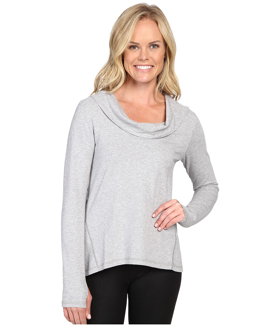 Lucy - Surrender Pullover (Sleet Grey Heather) Women's Long Sleeve Pullover