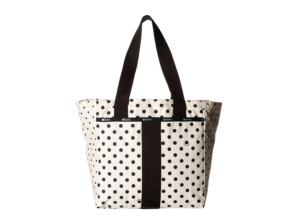 LeSportsac - Everyday Tote (Sun Multi Cream) Tote Handbags