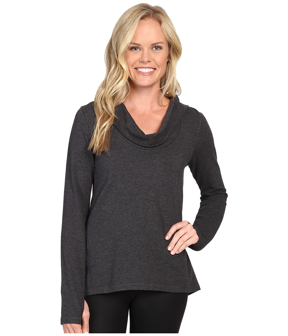 Lucy - Surrender Pullover (Lucy Black Heather 1) Women's Long Sleeve Pullover