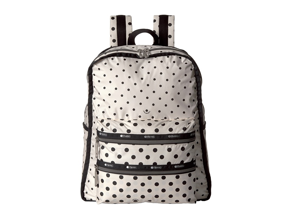 LeSportsac - Functional Backpack (Sun Multi Cream) Backpack Bags