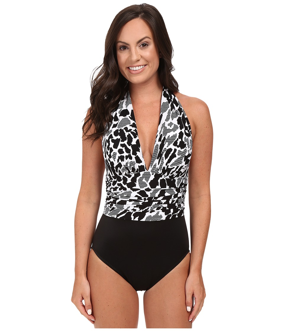 Magicsuit - Zooloo Yves One-Piece (Black/White) Women's Swimsuits One Piece