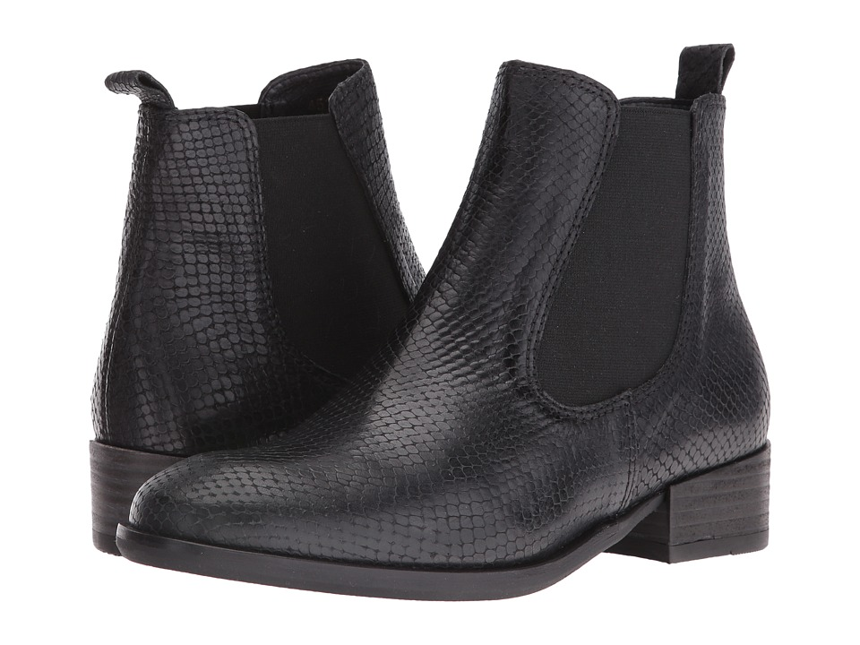 Wolky - Masala (Black Adder/Leather) Women's Pull-on Boots
