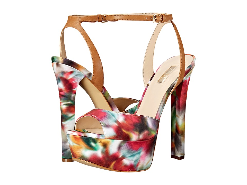 GUESS - Dola (Floral Fabric) High Heels