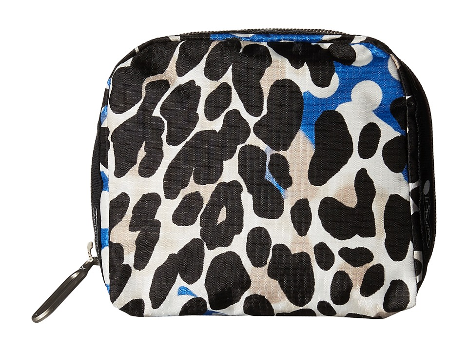LeSportsac - SQ Essential Cosmetic Case (Animal Dots) Cosmetic Case