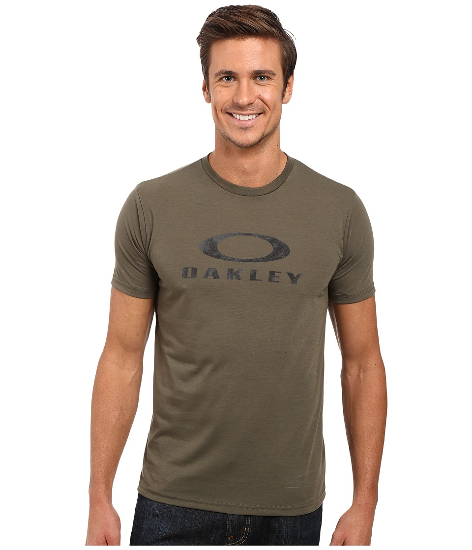 Oakley - O-Pinnacle Hydrolix Tee (Dark Brush) Men's T Shirt