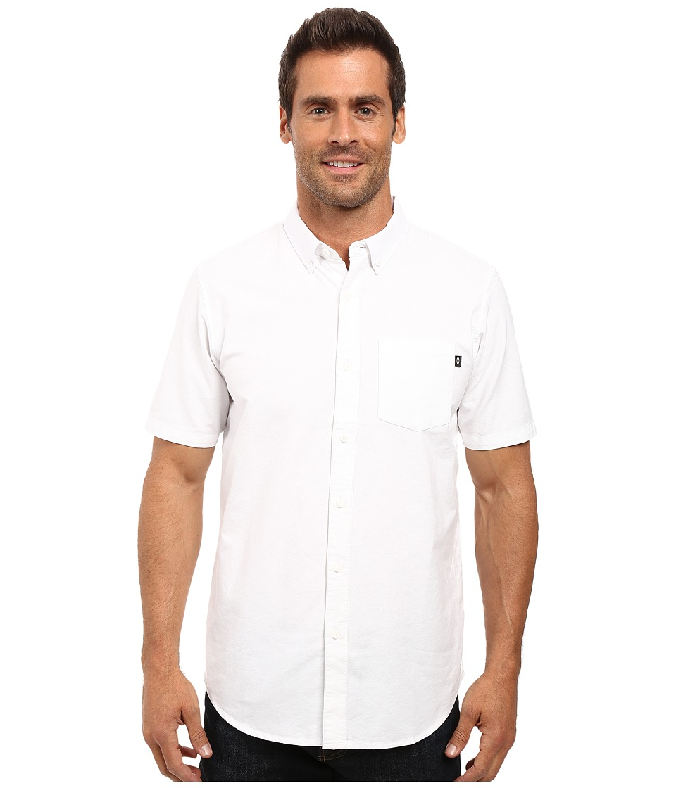 Oakley - Foundation Woven Top (White) Men's Clothing
