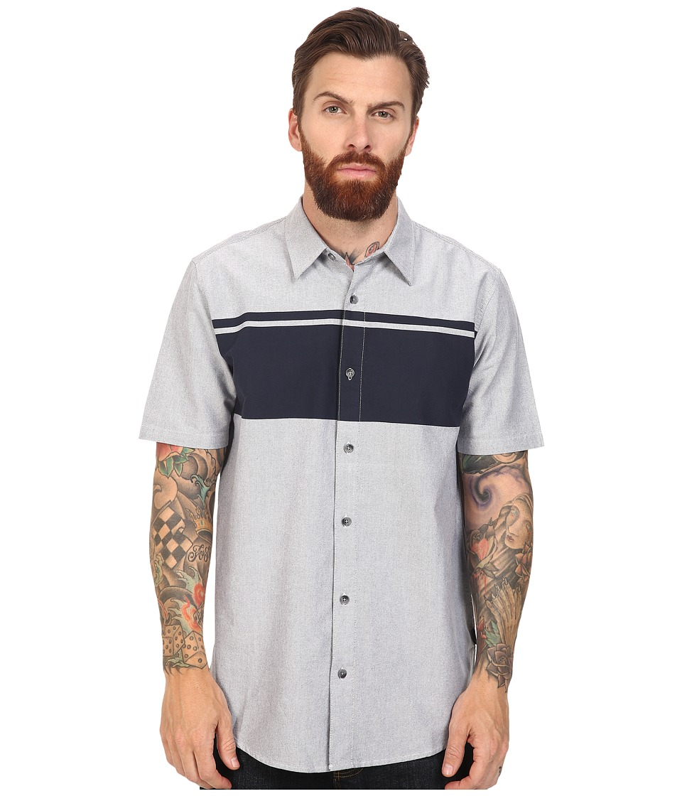 Oakley - Sims Woven Top (Fathom) Men's Clothing