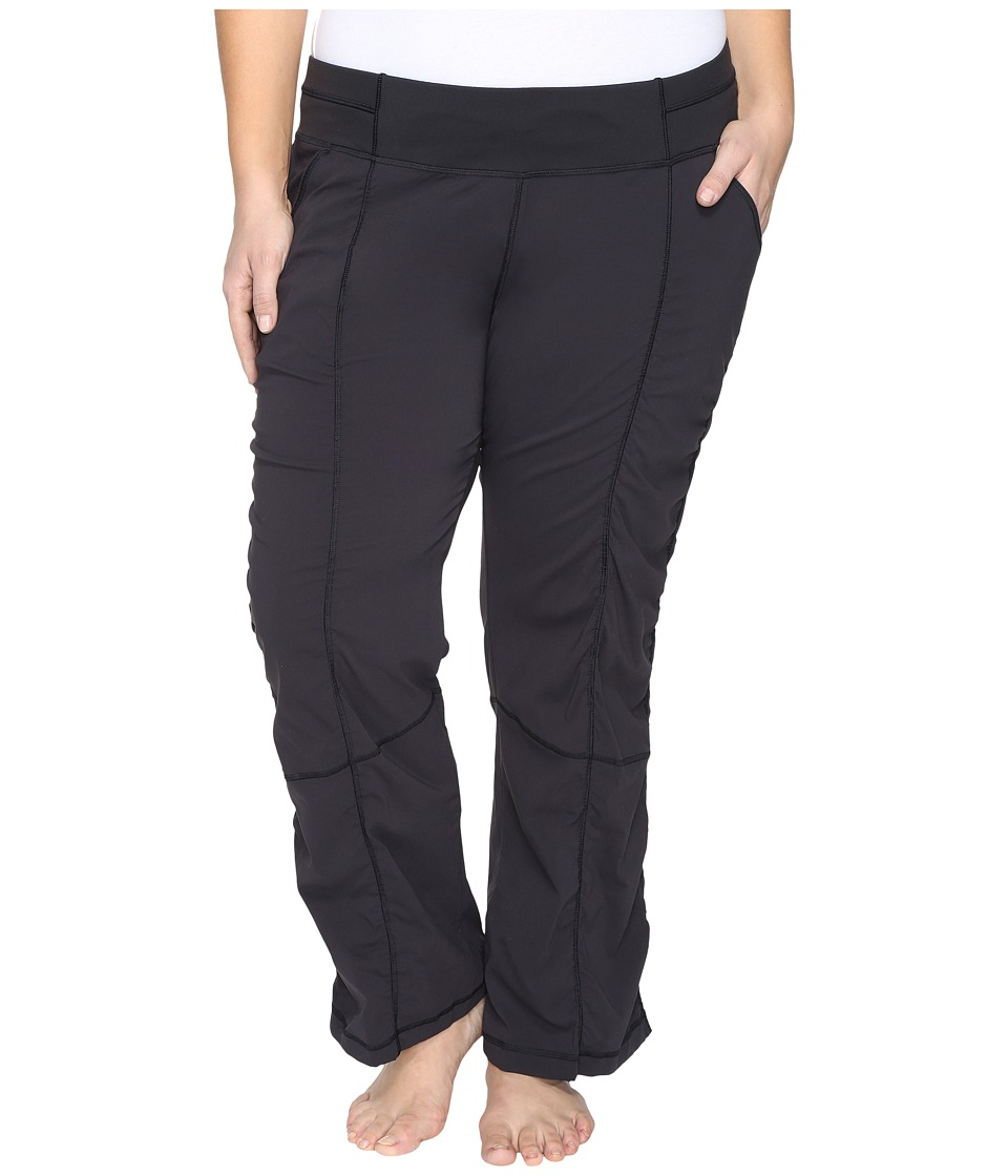 Lucy - Extended Get Going Pants (Lucy Black) Women's Workout