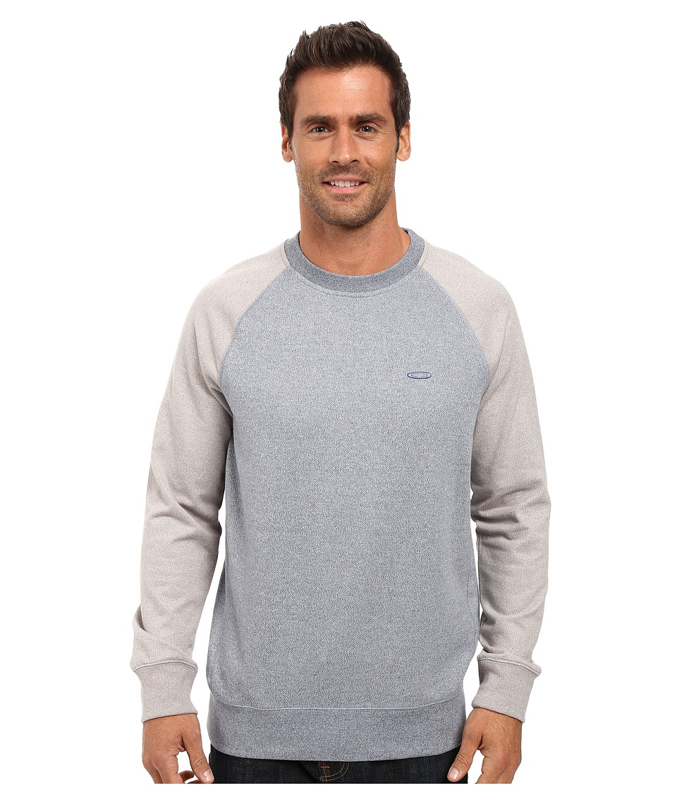 Oakley - Pennycross Crew (Blue Mirage Light Heather) Men's Clothing