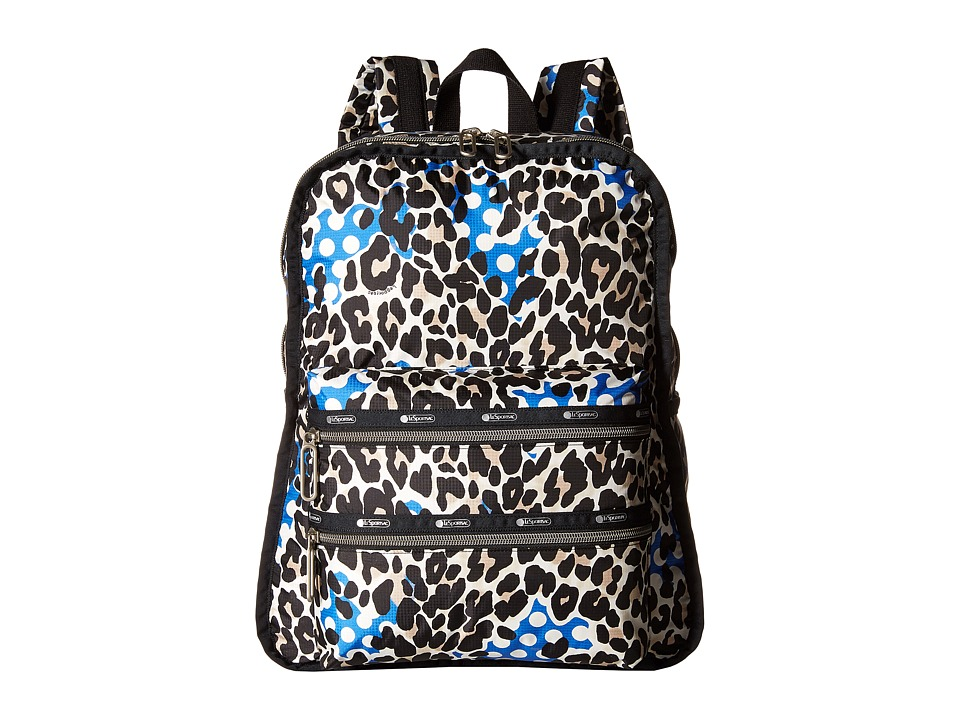 LeSportsac - Functional Backpack (Animal Dots) Backpack Bags