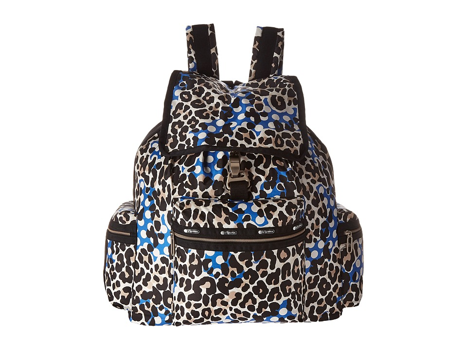 LeSportsac - 3-Zip Voyager (Animal Dots) Handbags