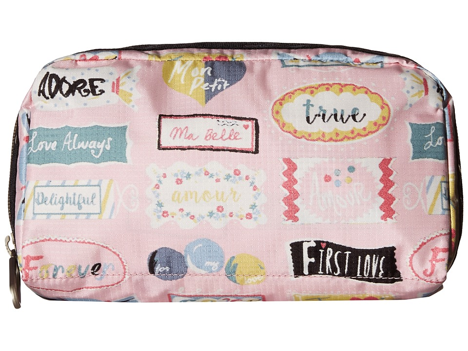 LeSportsac - Essential Cosmetic Case (Sweet Talk Pink) Cosmetic Case