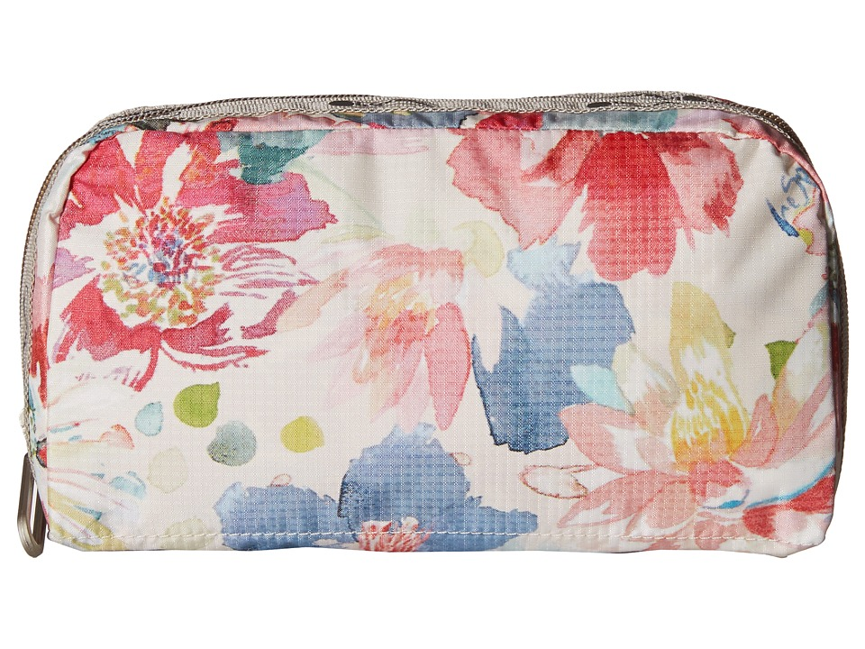 LeSportsac - Essential Cosmetic Case (Waterlily Garden) Cosmetic Case