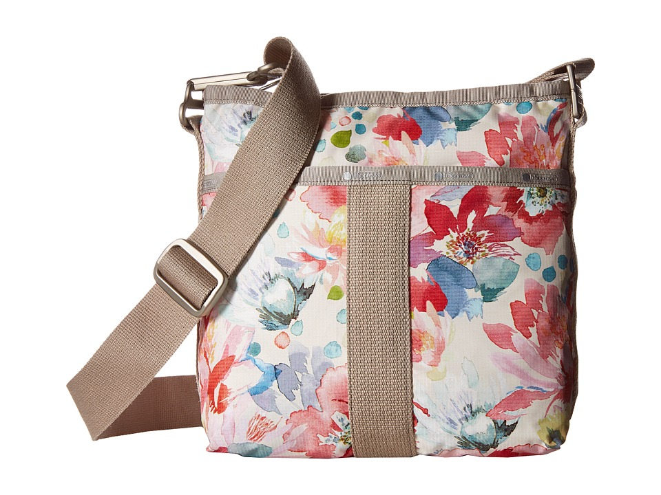 LeSportsac - Essential Crossbody (Waterlily Garden) Cross Body Handbags