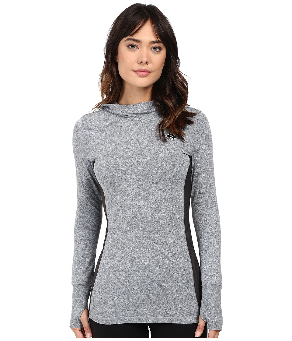 Volcom Snow - Challenger Pullover (Heather Grey) Women's Long Sleeve Pullover