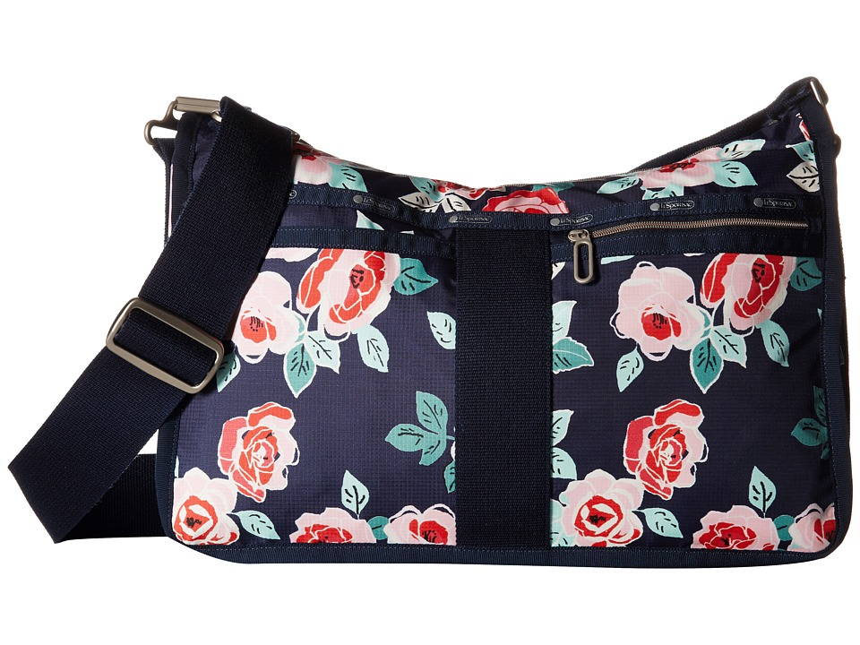 LeSportsac - Everyday Bag (Navy Rose) Handbags