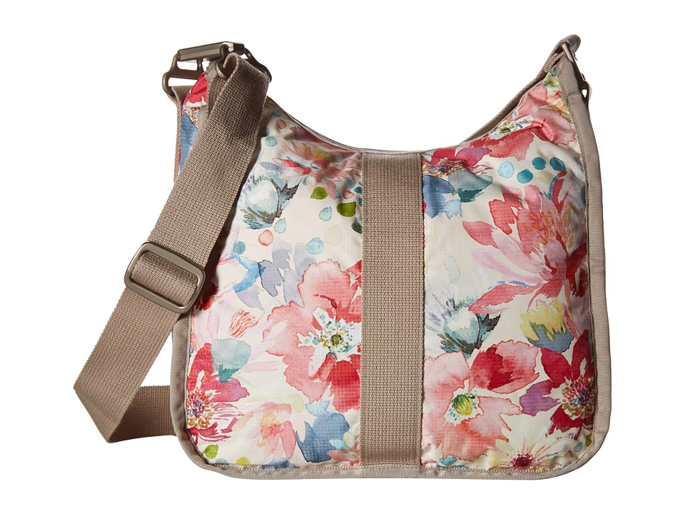 LeSportsac - Weekender Hobo (Waterlily Garden) Hobo Handbags