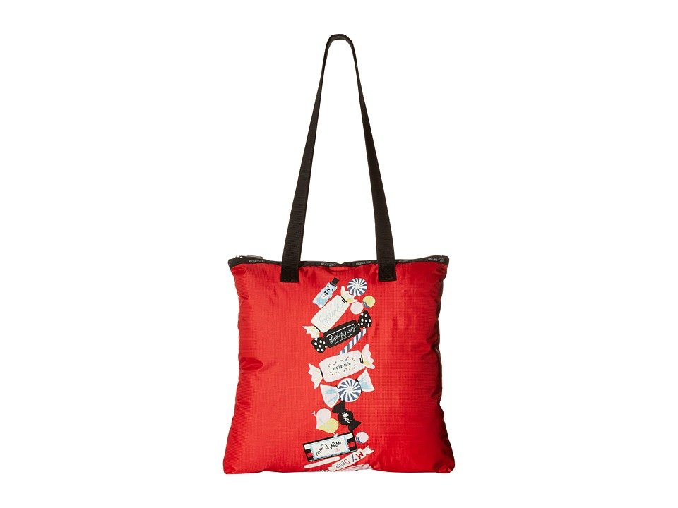 LeSportsac - Artist Tote (Candy Stripe) Tote Handbags