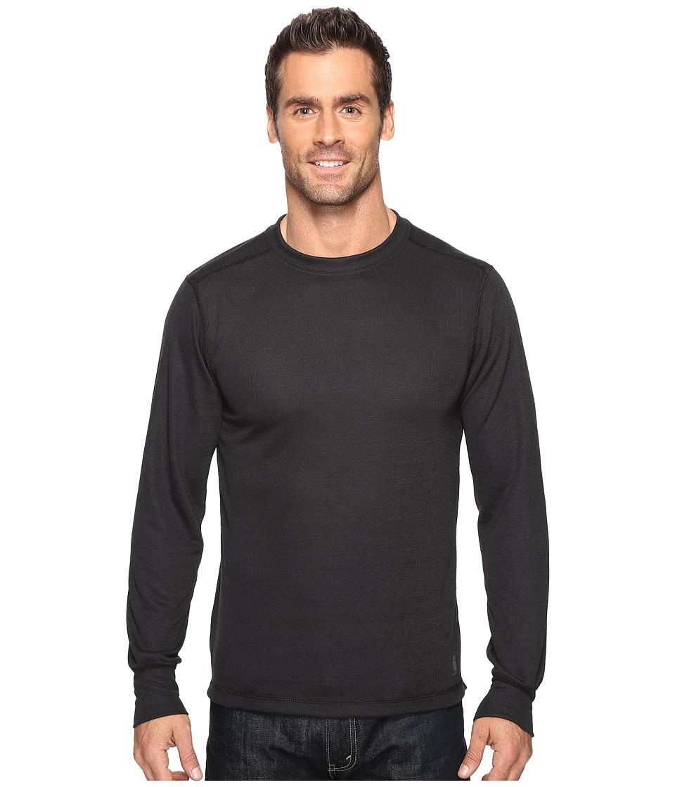 Carhartt - Base Force Extremes Weather Crew Neck (Black) Men's Long Sleeve Pullover