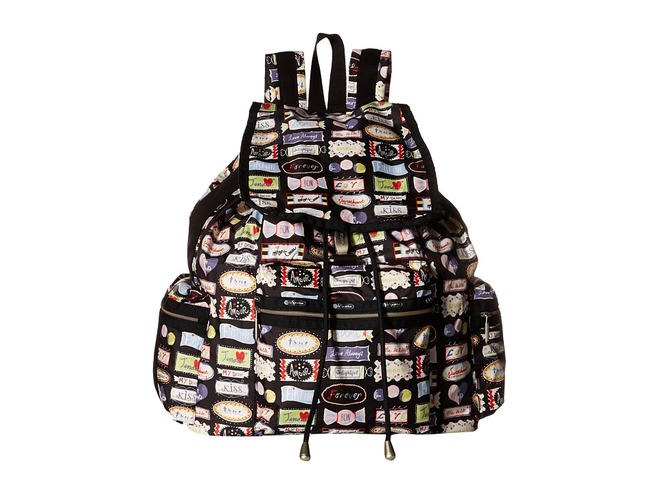 LeSportsac - 3-Zip Voyager (Sweet Talk) Handbags