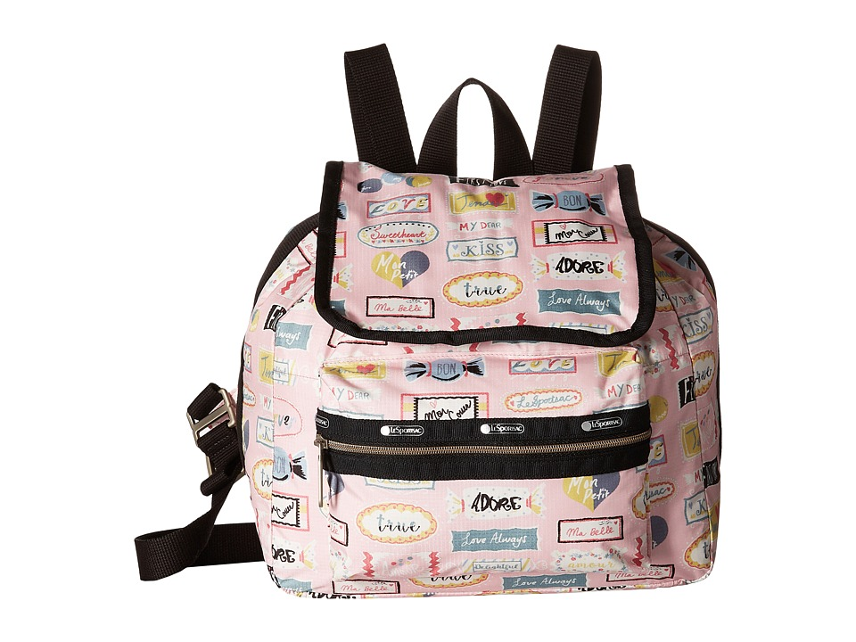 LeSportsac - Mini Voyager (Sweet Talk Pink) Handbags