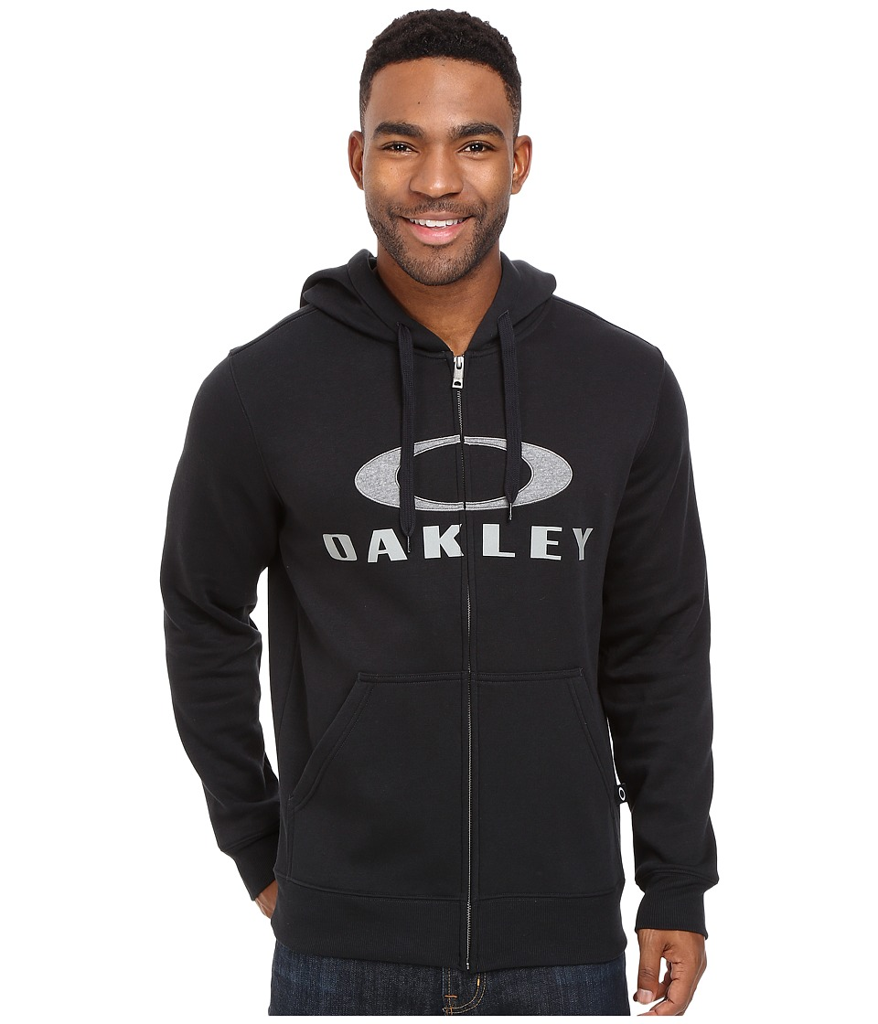 Oakley - Ellipse Nest Full Zip (Jet Black) Men's Sweatshirt