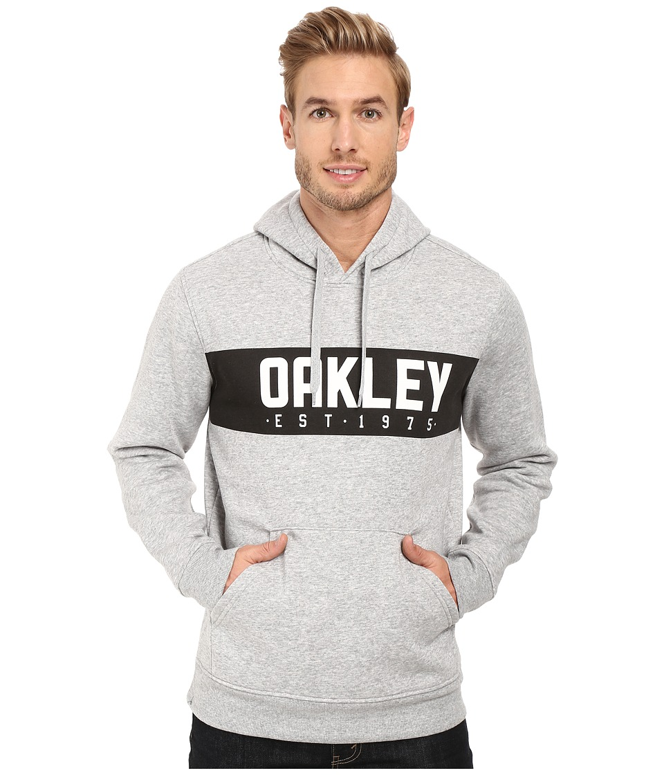 Oakley - Hooded Fleece Pullover (Granite Heather) Men's Sweatshirt