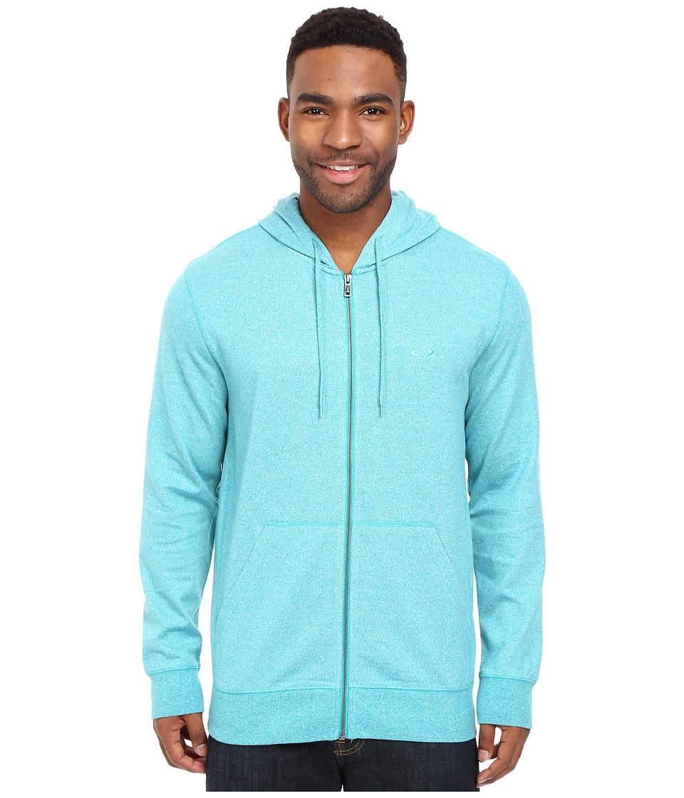 Oakley - Pennycross Full Zip (Lake Blue Light Heather) Men's Sweatshirt