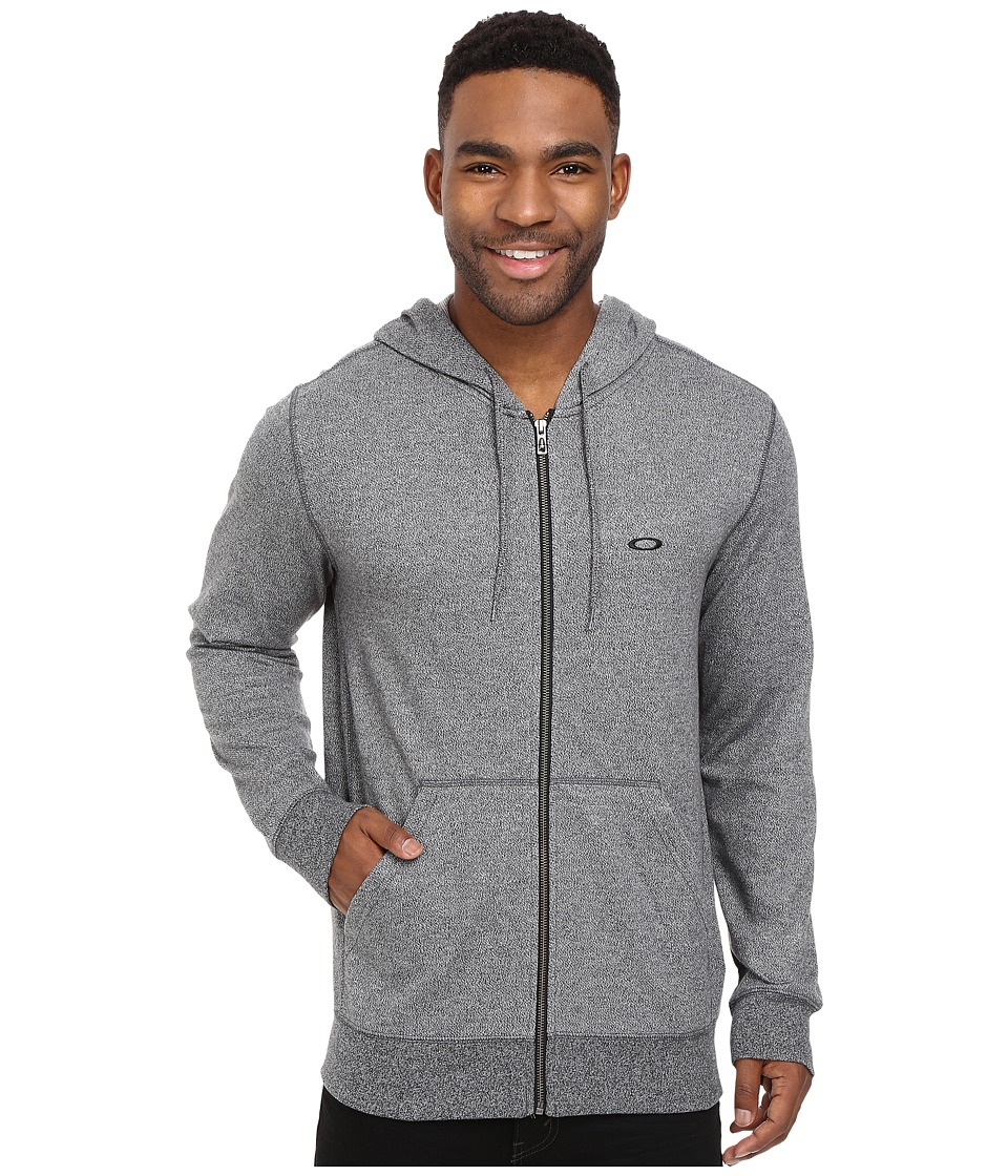 Oakley - Pennycross Full Zip (Jet Black Heather) Men's Sweatshirt
