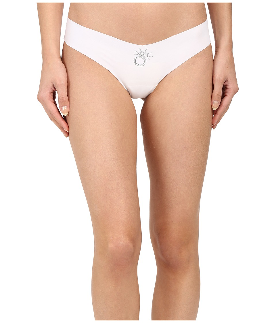 Commando - Solid Thong w/ Embellishment CT15 (Diamond Ring Crystal) Women's Underwear
