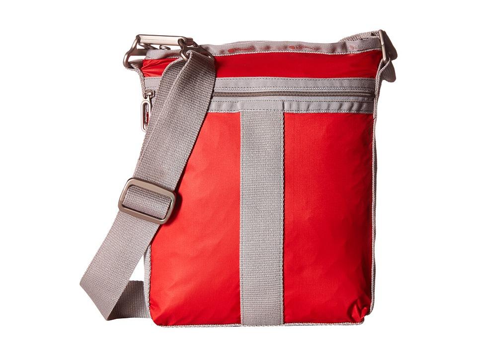 LeSportsac - City Crossbody (Classic Red) Cross Body Handbags