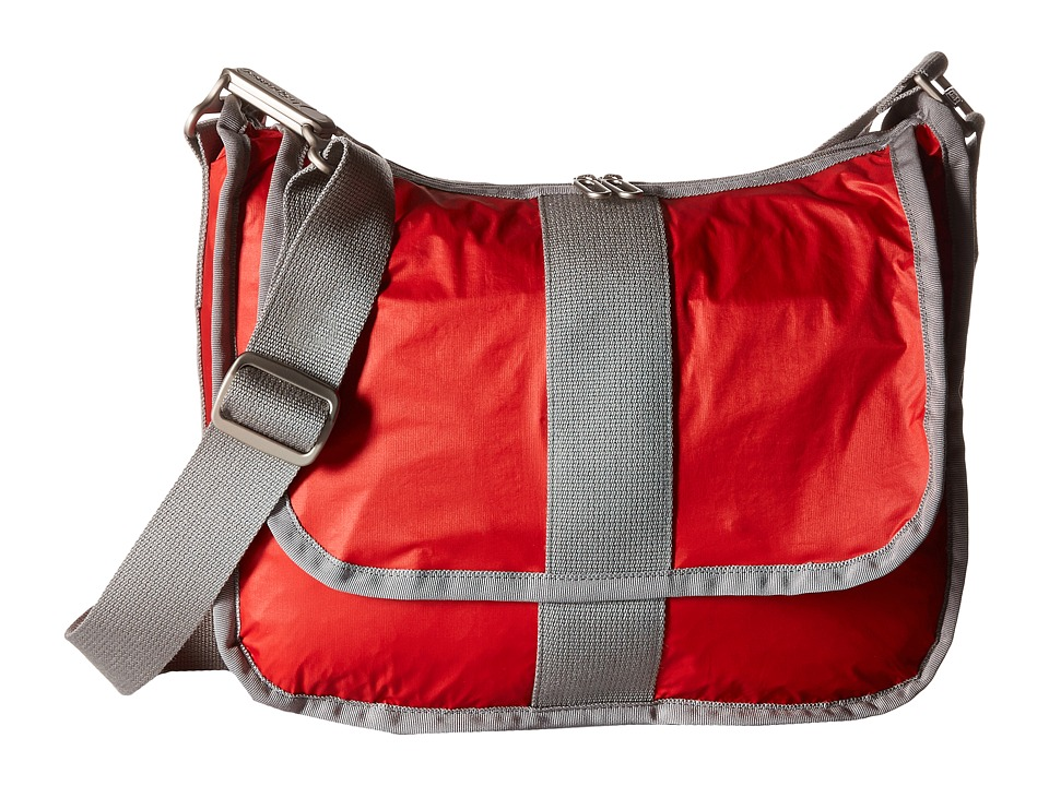 LeSportsac - City Hobo (Classic Red) Hobo Handbags