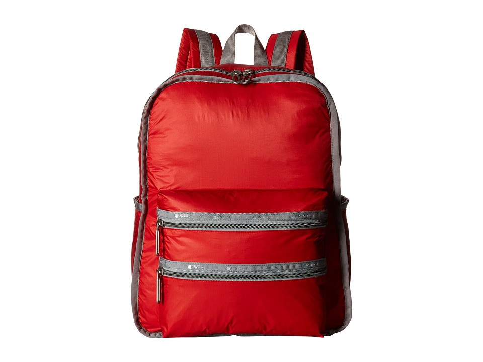 LeSportsac - Functional Backpack (Classic Red) Backpack Bags