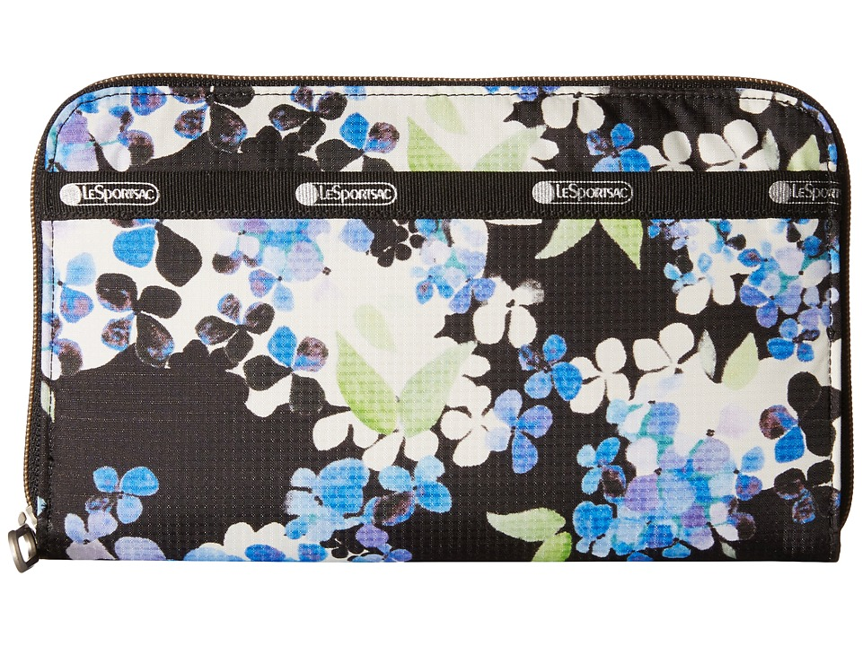 LeSportsac - Everyday Wallet (Flower Cluster) Wallet Handbags