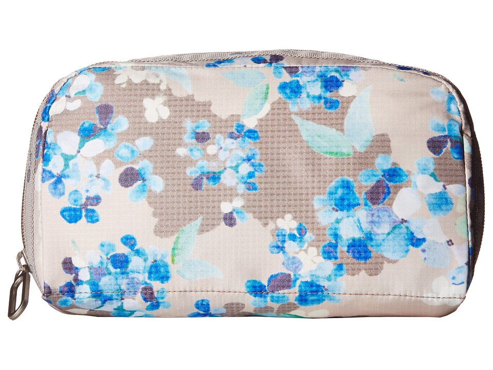 LeSportsac - Essential Cosmetic Case (Flower Cluster Khaki) Cosmetic Case