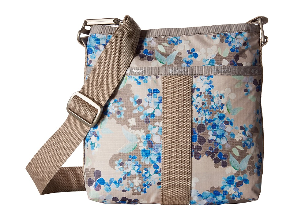 LeSportsac - Essential Crossbody (Flower Cluster Khaki) Cross Body Handbags