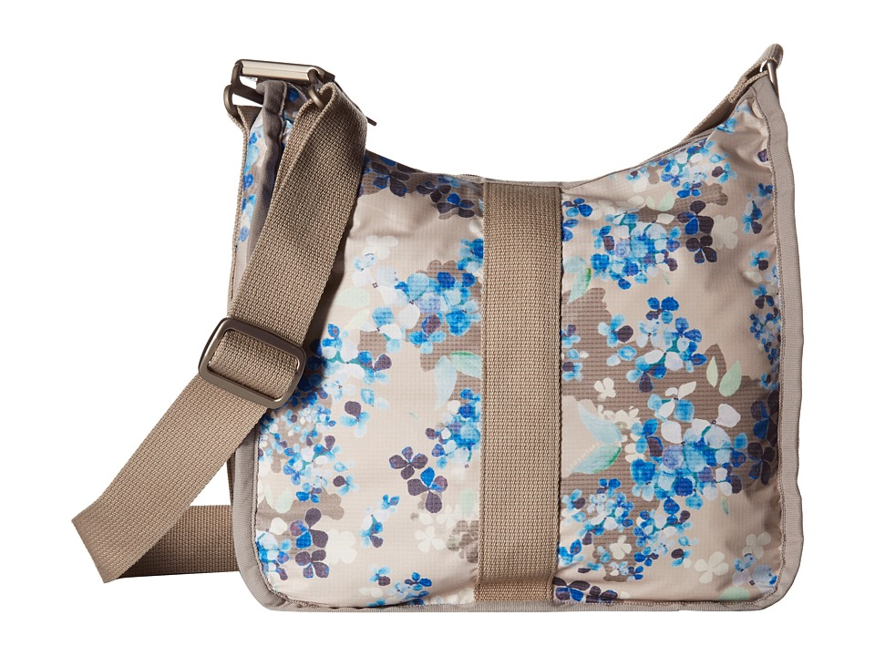 LeSportsac - Weekender Hobo (Flower Cluster Khaki) Hobo Handbags