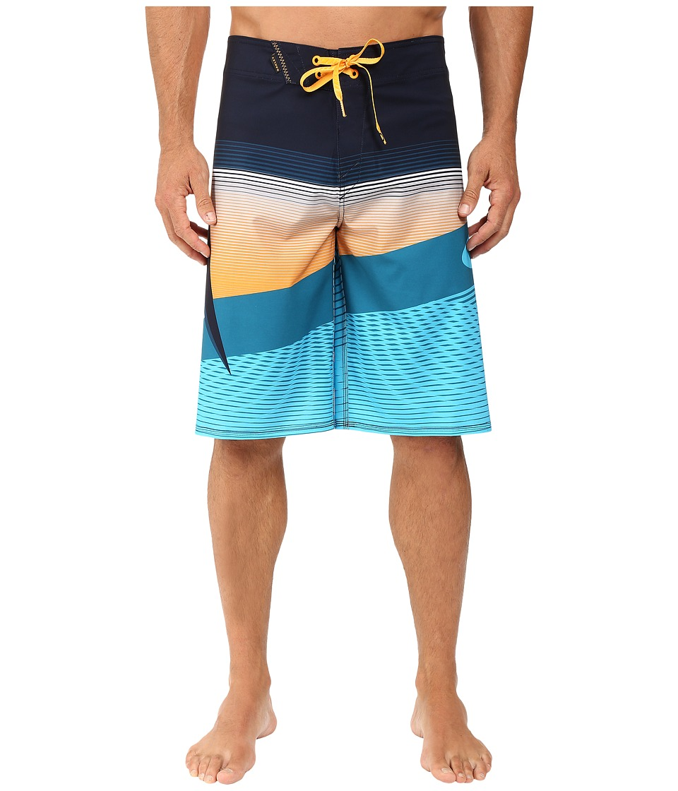 Oakley - Gnarly Wave Boardshorts (Fathom) Men's Shorts