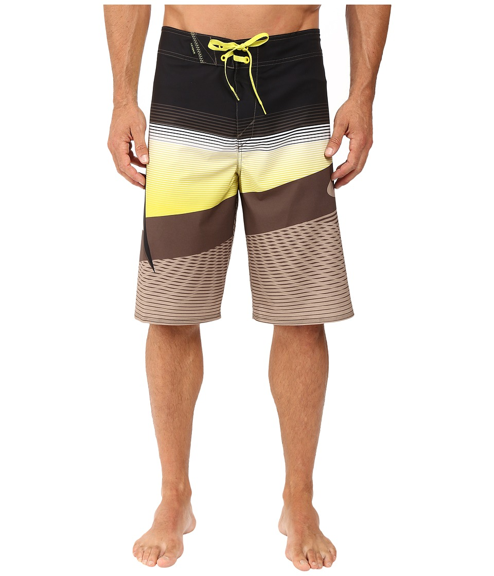 Oakley - Gnarly Wave Boardshorts (Dark Brush) Men's Shorts