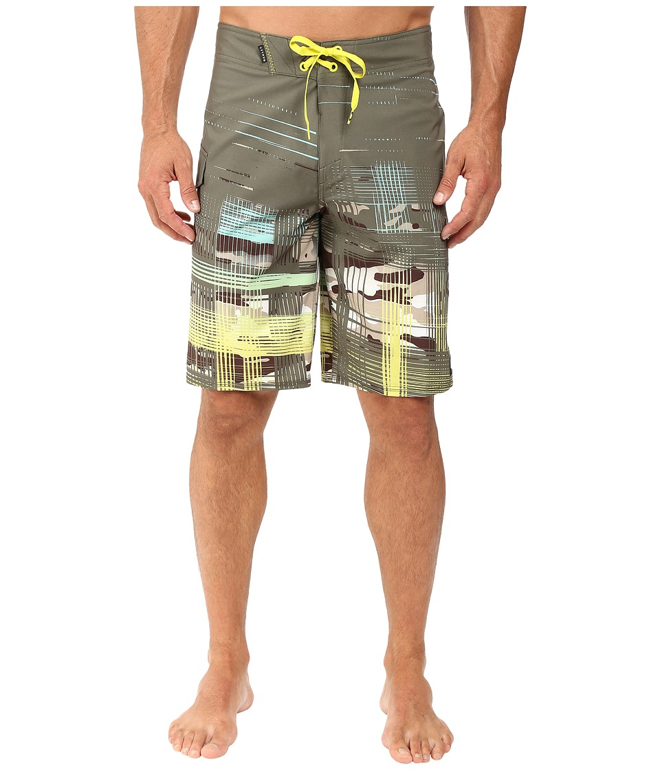 Oakley - Gridlock Boardshorts (Dark Brush) Men's Swimwear