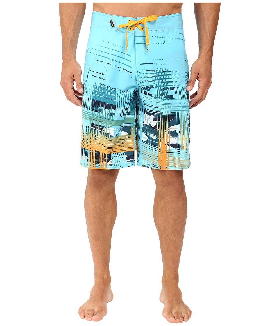 Oakley - Gridlock Boardshorts (Illumination Blue) Men's Swimwear