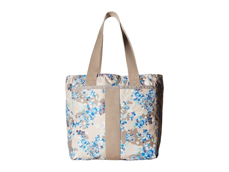 LeSportsac - Everyday Tote (Flower Cluster Khaki) Tote Handbags